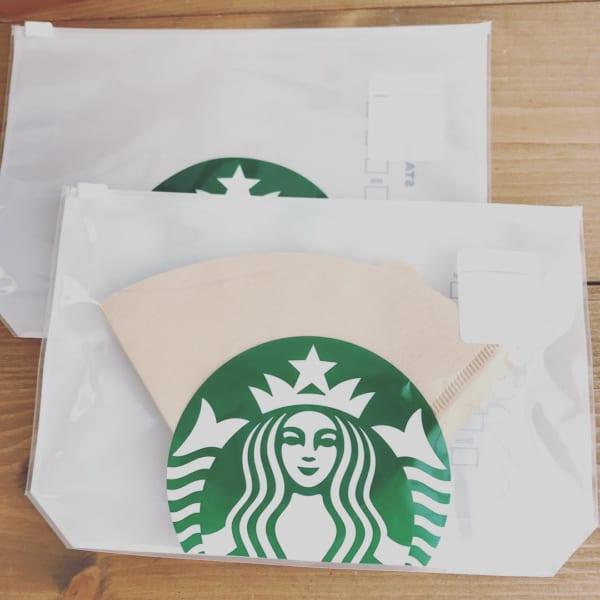 コレ、人気です! コーヒーフィルタージッパーバッグ