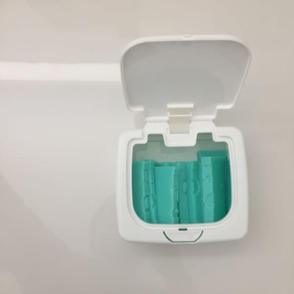 ウタマロ石鹸 収納 セリア
