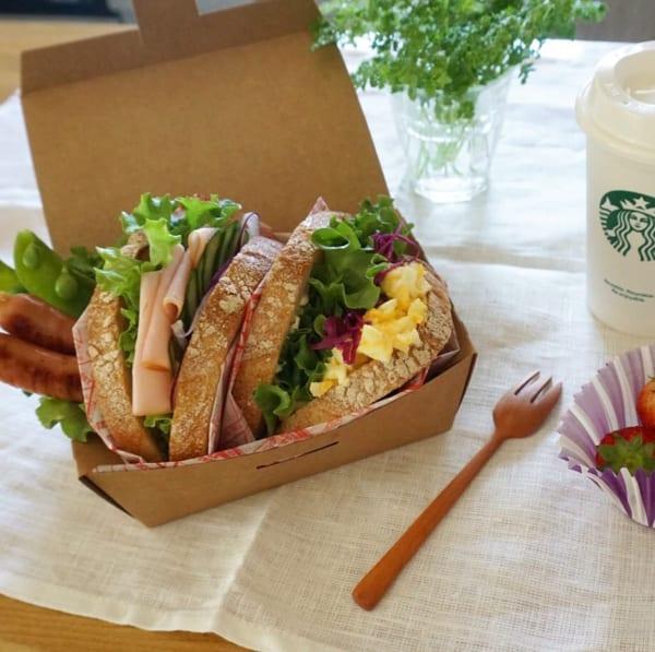 ピクニック おしゃれ お弁当4