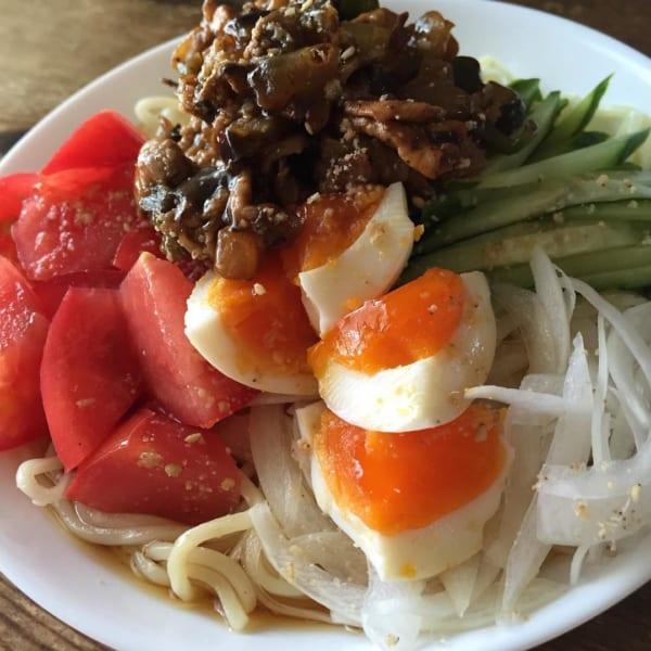 八丁味噌炒め冷麺