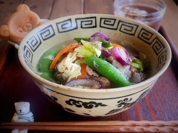 麺レシピ③中華麺