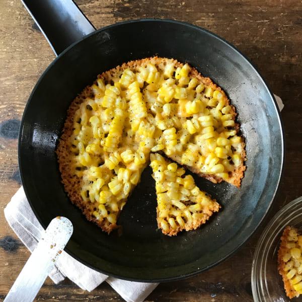 トウモロコシとカリカリチーズのおつまみ