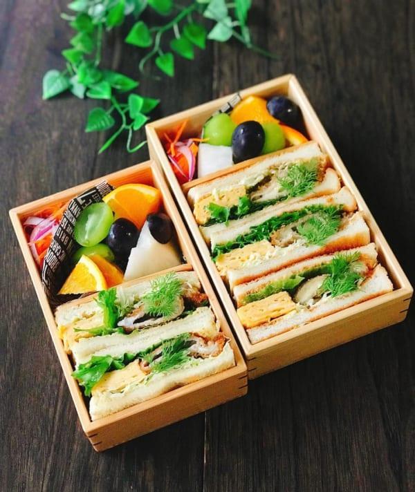 ピクニック おしゃれ お弁当5