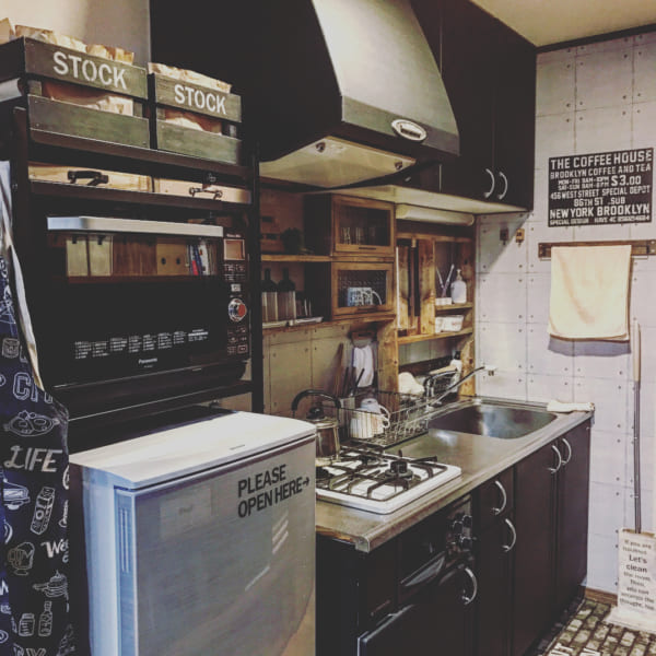 男前キッチン