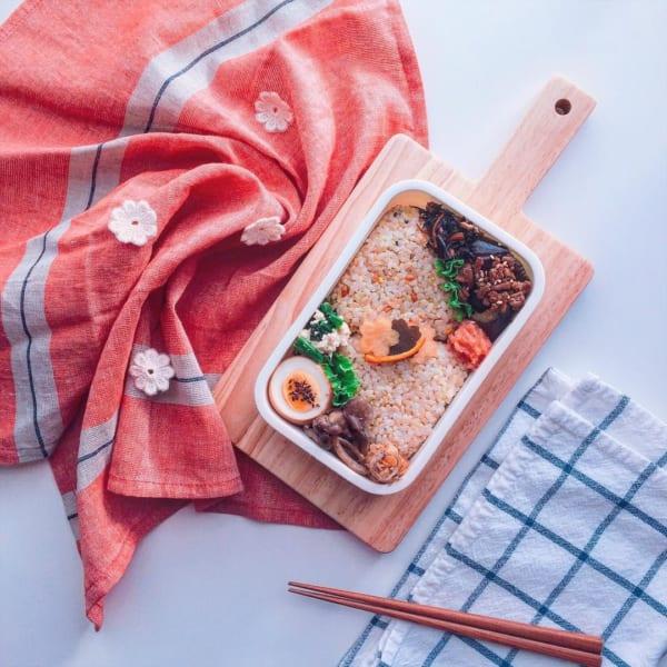 可愛いお弁当の盛り付け方7