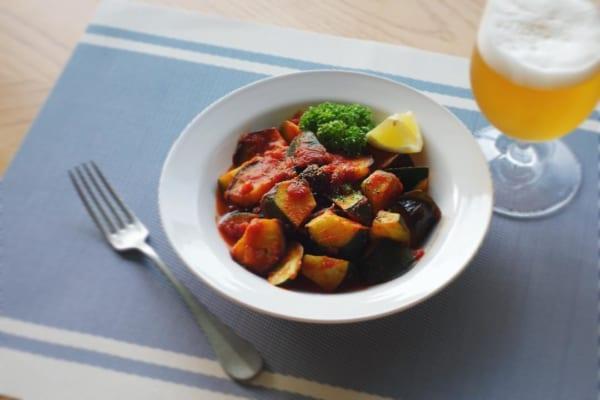 ある野菜だけラタトゥイユ