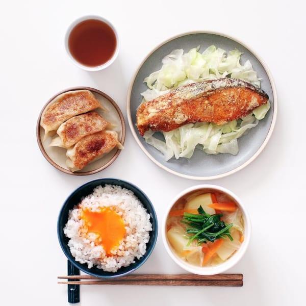 鮭のカレー味竜田揚げ