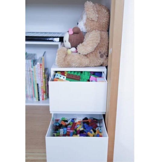 無印 おもちゃ収納8