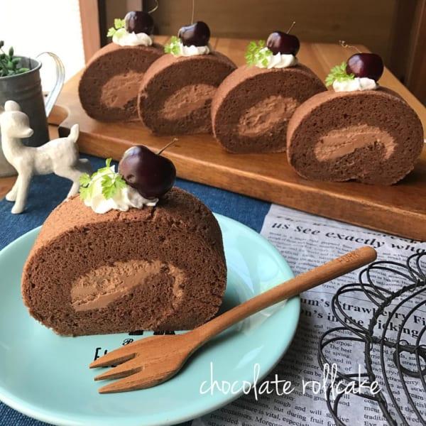 おやつレシピ①チョコレート7