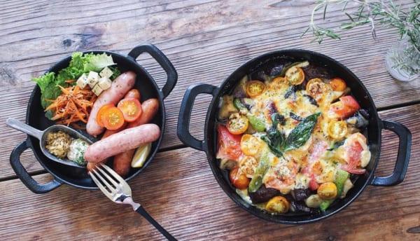 おすすめ夏野菜のチーズ焼き