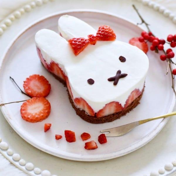 うさぎのミッフィー ケーキ