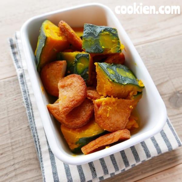 かぼちゃとさつま揚げの煮物