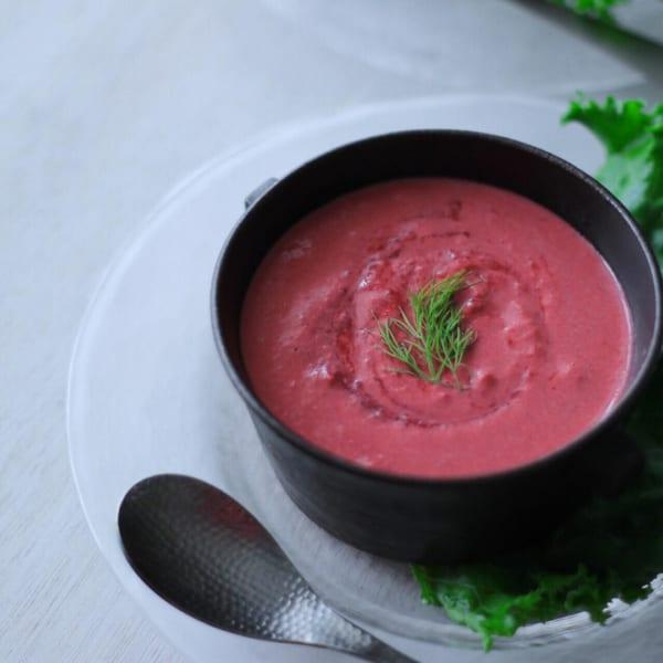 ビーツの冷たいスープ