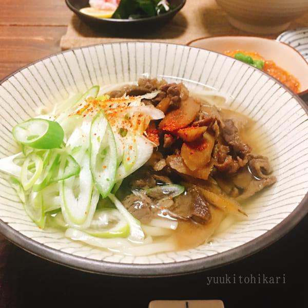 麺レシピ①うどん3