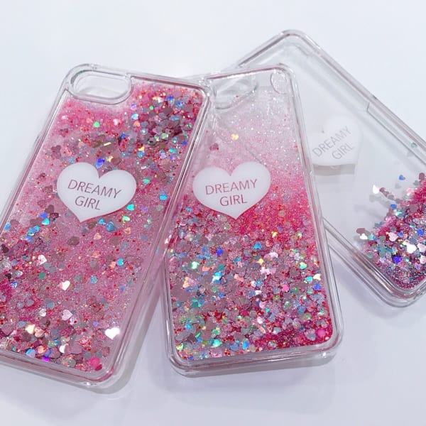 3COINS ラメ入りiPhoneケース