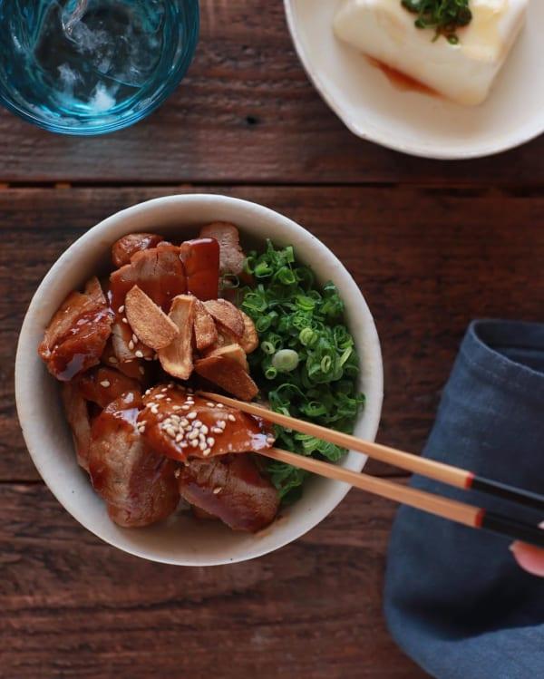 簡単な《豚肉》料理12