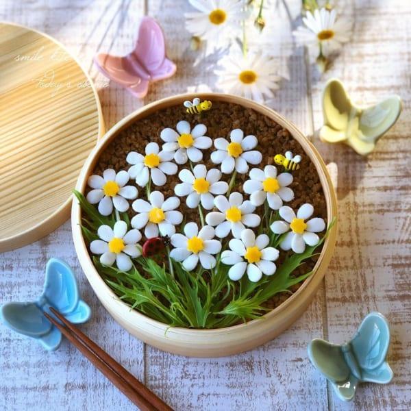 お弁当のお花畑