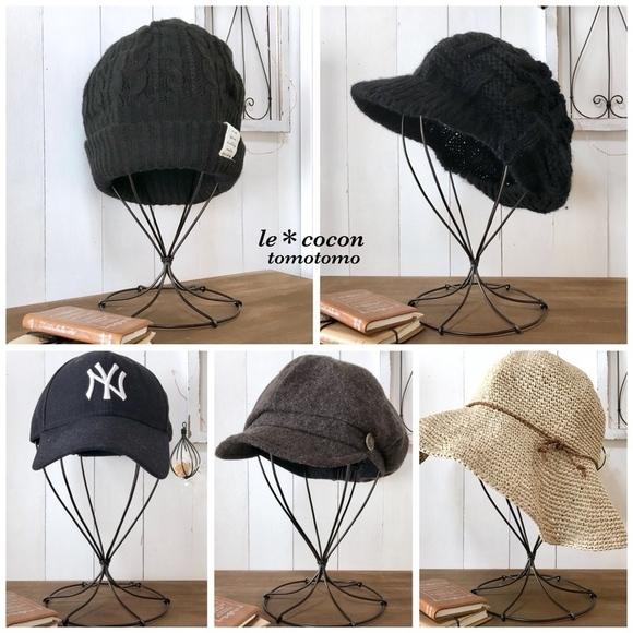 帽子収納アイディア・簡単DIY8
