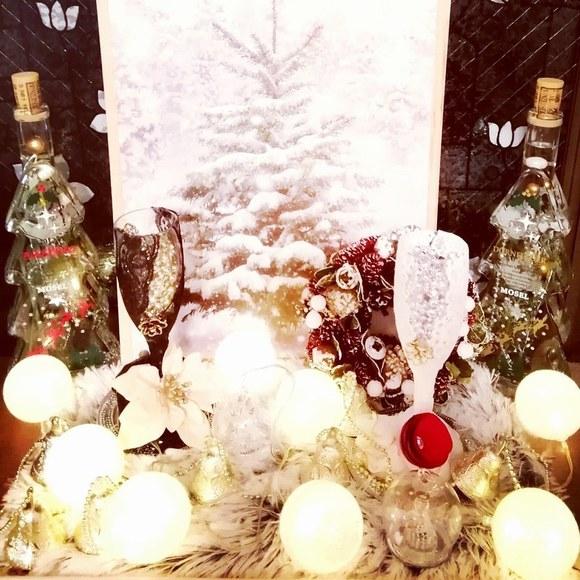 造花インテリア クリスマス
