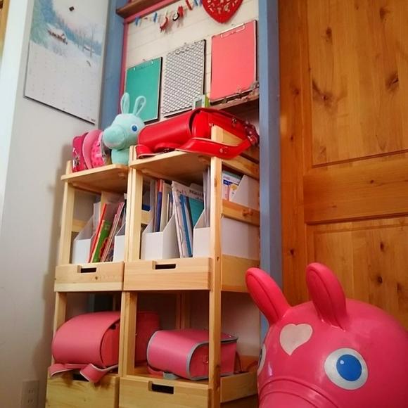 ラブリコを活用した子供部屋インテリア4