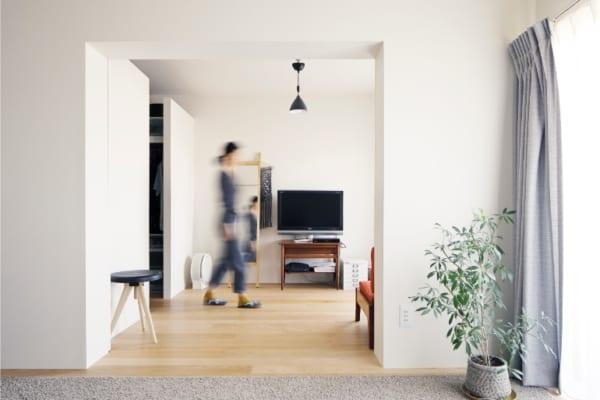 のくらし 明るいアトリエと開放的な居室空間7