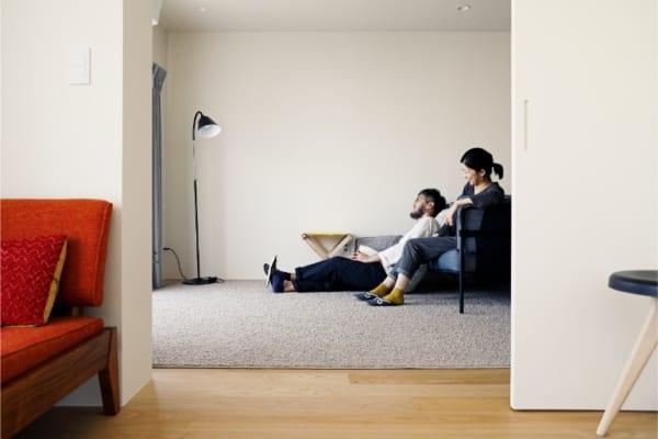 のくらし 明るいアトリエと開放的な居室空間17