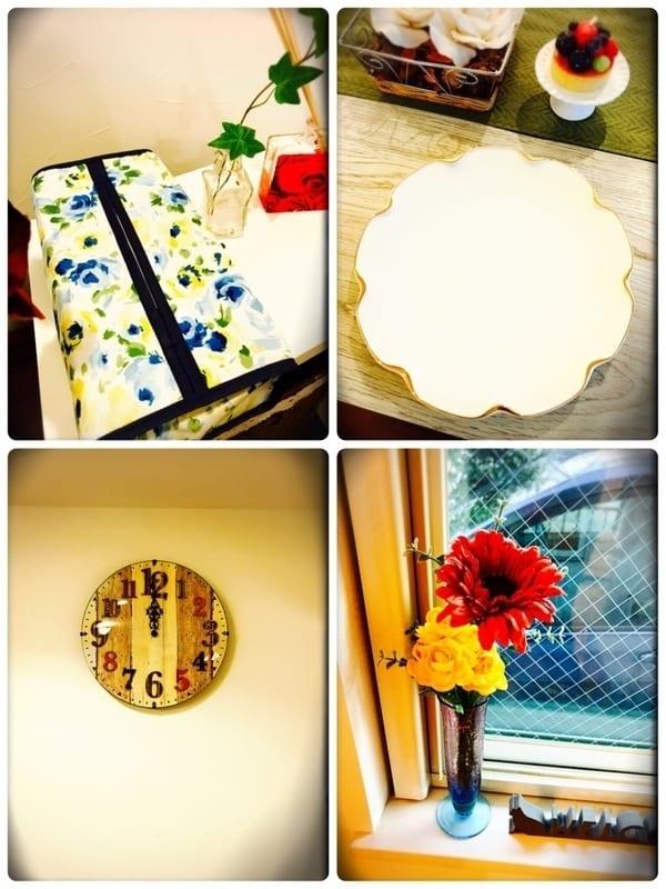 造花インテリア 窓2