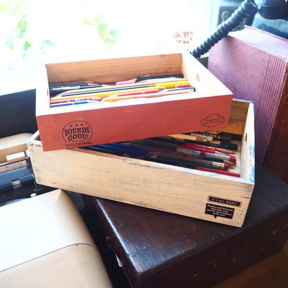 色鉛筆 収納ボックス リサイクル