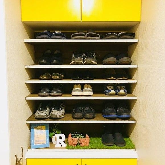 一人暮らしにおすすめの玄関収納アイデア6