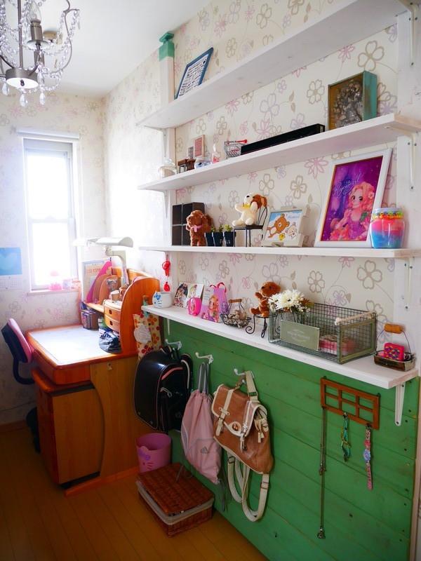 ラブリコを活用した子供部屋インテリア2