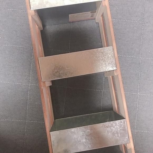 ブリキ×木材 収納ボックスDIY3