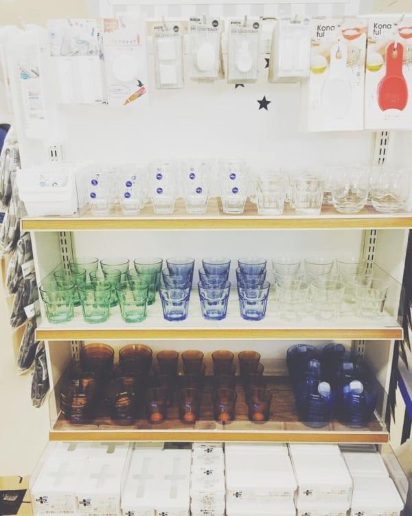 【キャンドゥ】シンプルでおしゃれなグラス