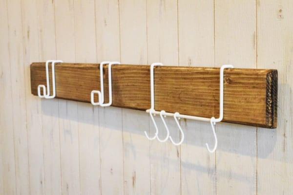 『ナゲシレール』で掛けるだけの収納DIY12