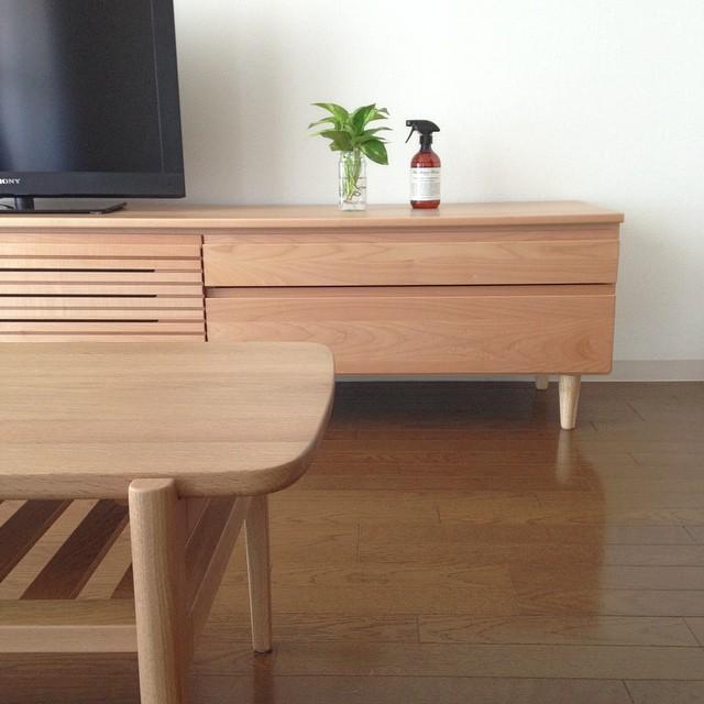 keyuca ローテーブル テレビボード