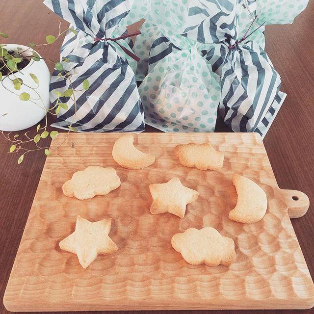 夜空の七夕クッキー