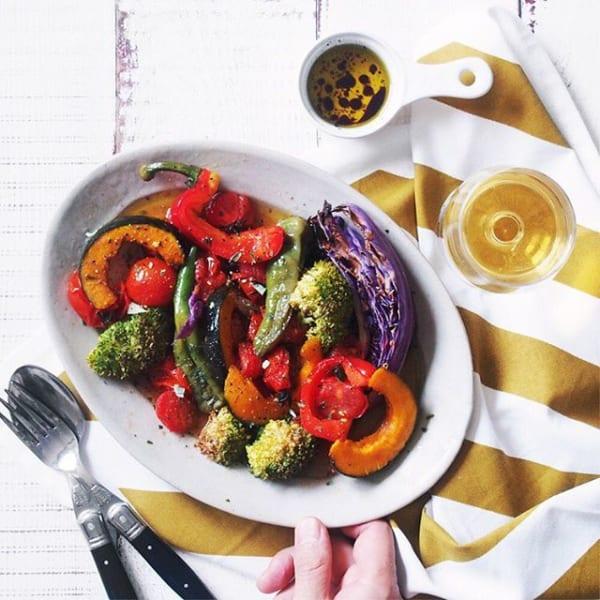 いろいろ野菜のほっとサラダ