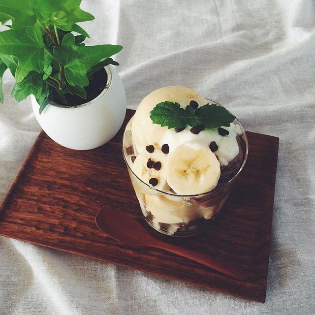 チョコレートパフェ レシピ10