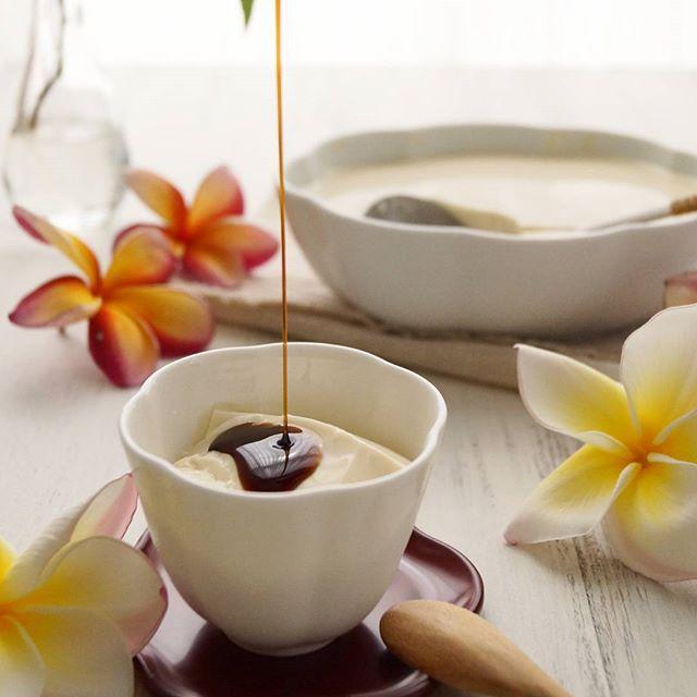 優しい甘さの豆腐花