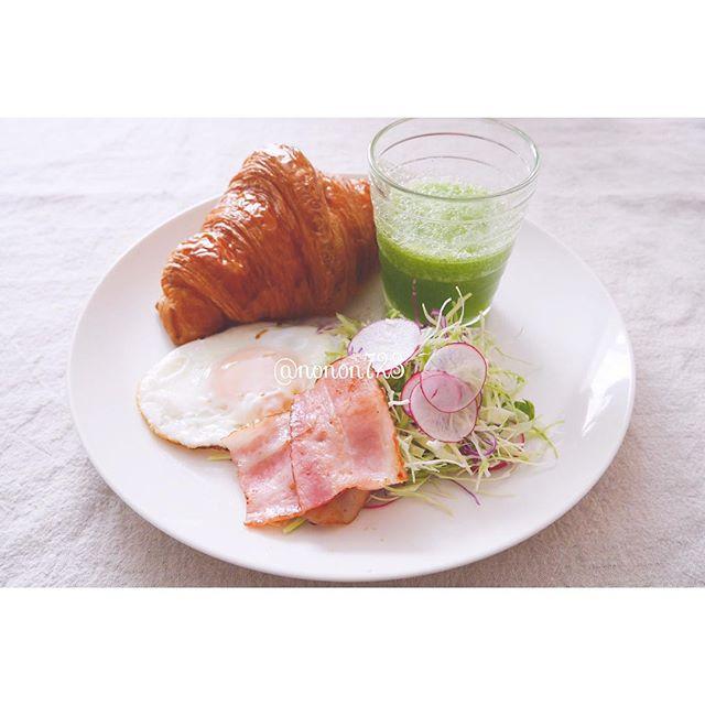 林檎と小松菜のスムージー