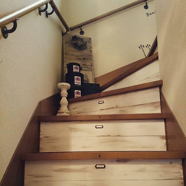 階段 DIY