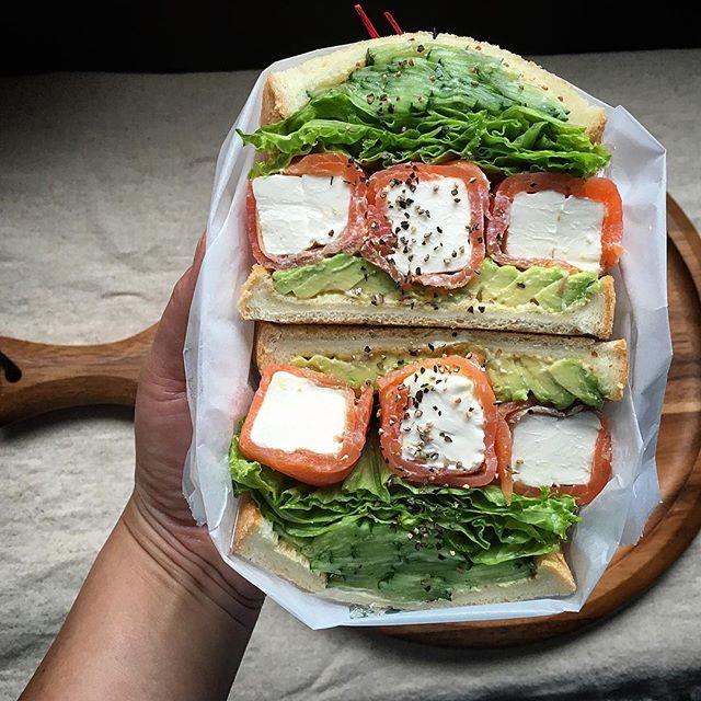 おしゃれ サンドイッチ 魚4