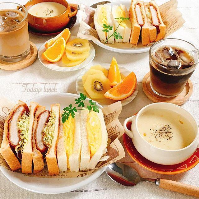 おしゃれ サンドイッチ 卵8