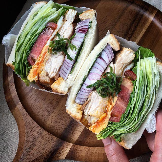 おしゃれ サンドイッチ 肉2