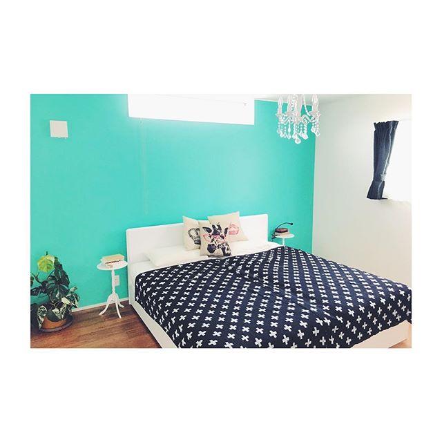 個性的な寝室&ベッドレイアウト2