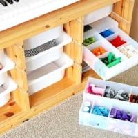 ミニカー、ブロック、ゲームetc.をスッキリ!おもちゃの上手な収納例16選