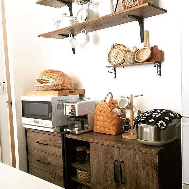 カフェ風キッチンを賃貸で作る9