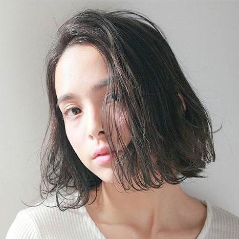 前髪なし ナチュラルボブ5