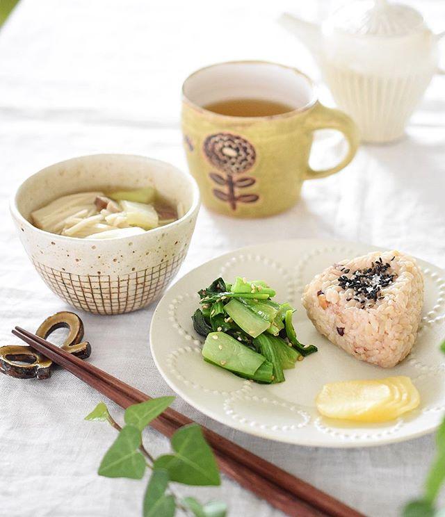 マクロビオティック 玄米 朝食