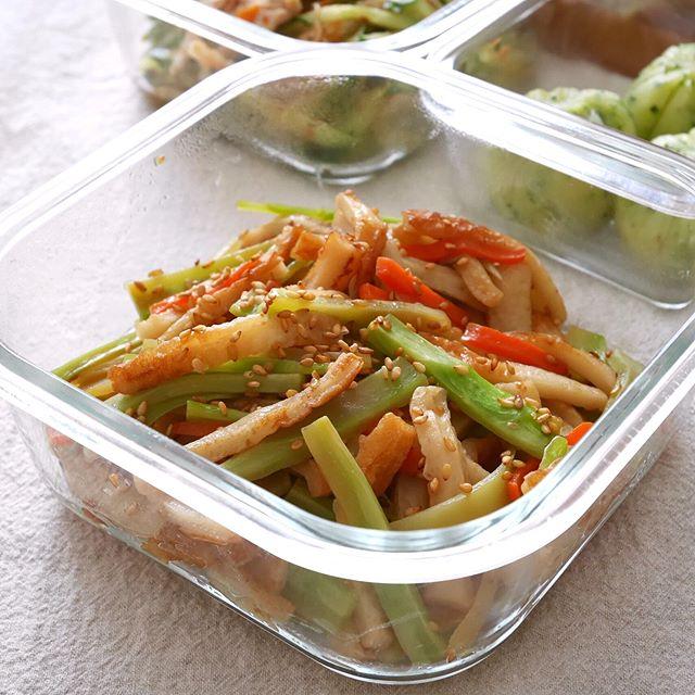 作り置きにおすすめの野菜の炒め物