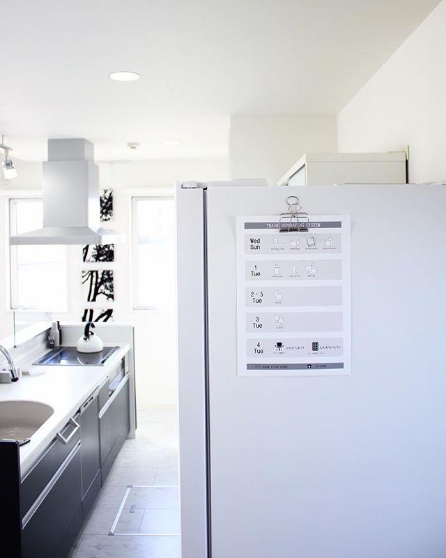 キッチン 収納 風水 冷蔵庫のドア